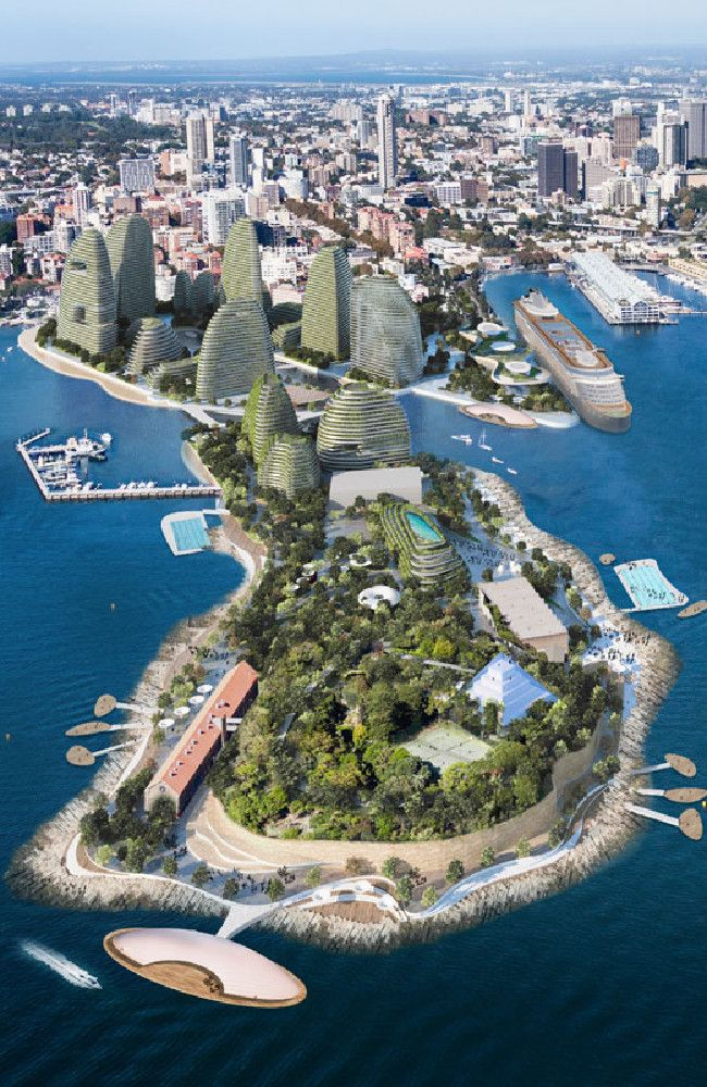 Delightful THIS Could Be The Stunning New Look Of Sydney Harbour If Plans To Open Up  Garden