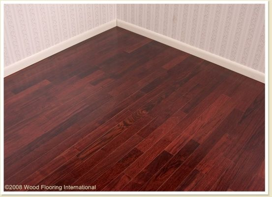 Red Mahogany Hardwood Flooring