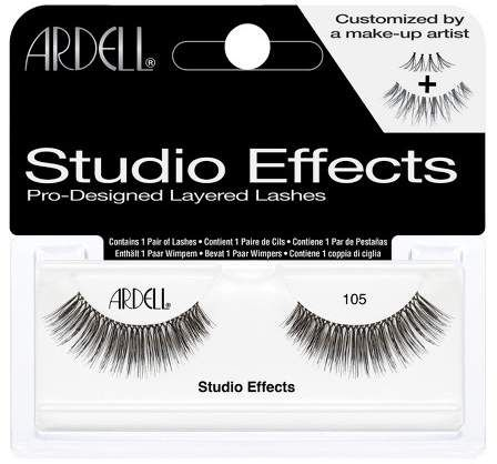 d9ec0b8a54c Ardell Eyelash 105 Studio Effects Black | Products | Ardell ...