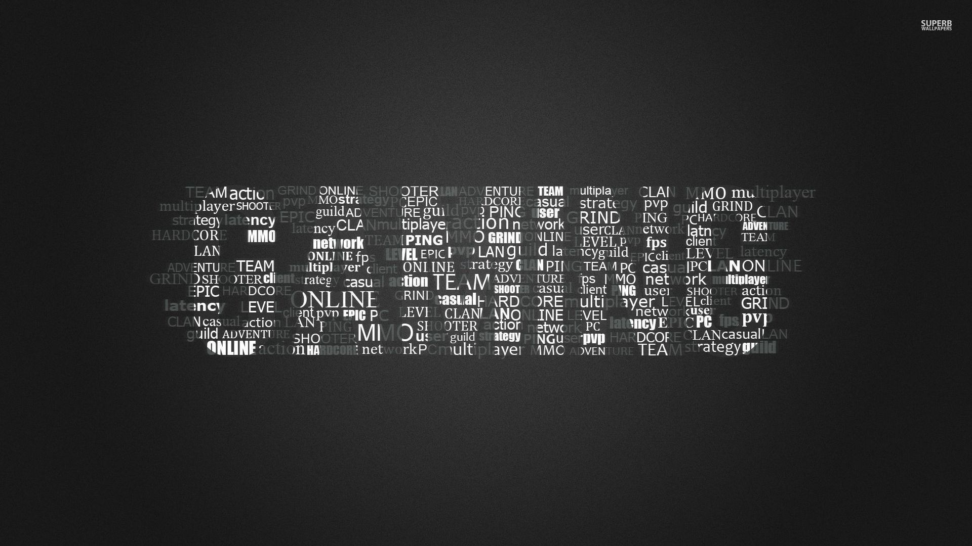 Gaming Wallpaper Typography Wallpapers 28646 Gaming Wallpapers Best Gaming Wallpapers Wallpaper Pc