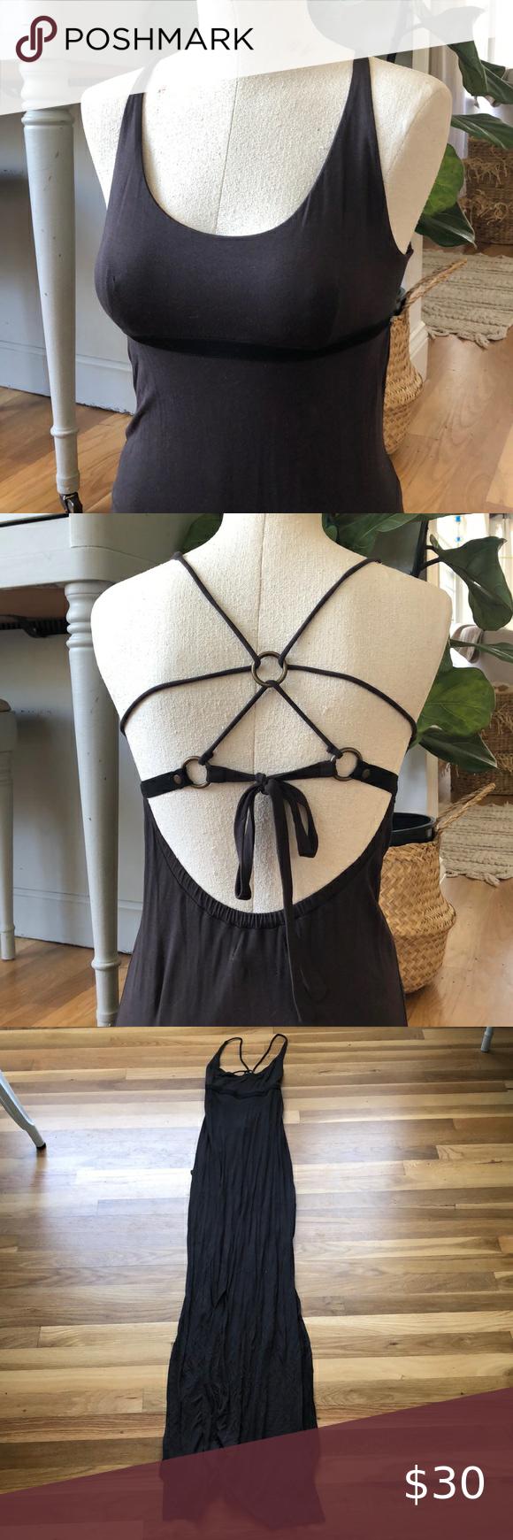 Brownish Gray Tank Top Maxi Dress In 2021 Top Maxi Dresses Maxi Dress Cotton Maxi Dress [ 1740 x 580 Pixel ]