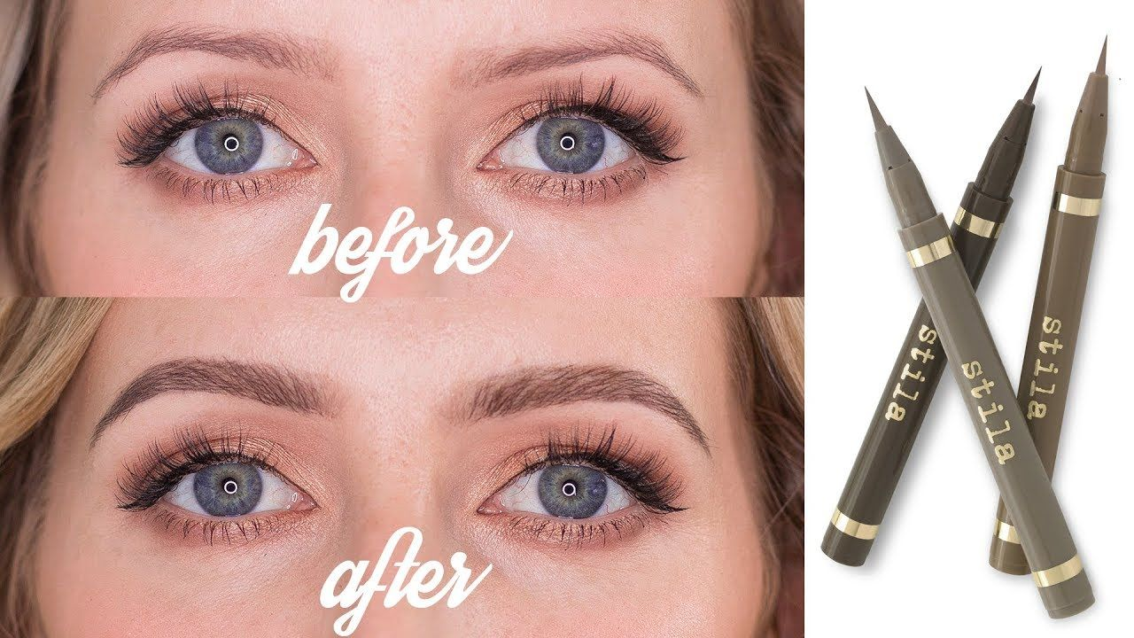 REALISTIC BROW TATTOO EFFECT | How To Use Eyebrow Pens ...