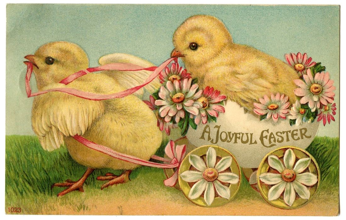 Congratulate, what easter image vintage for that