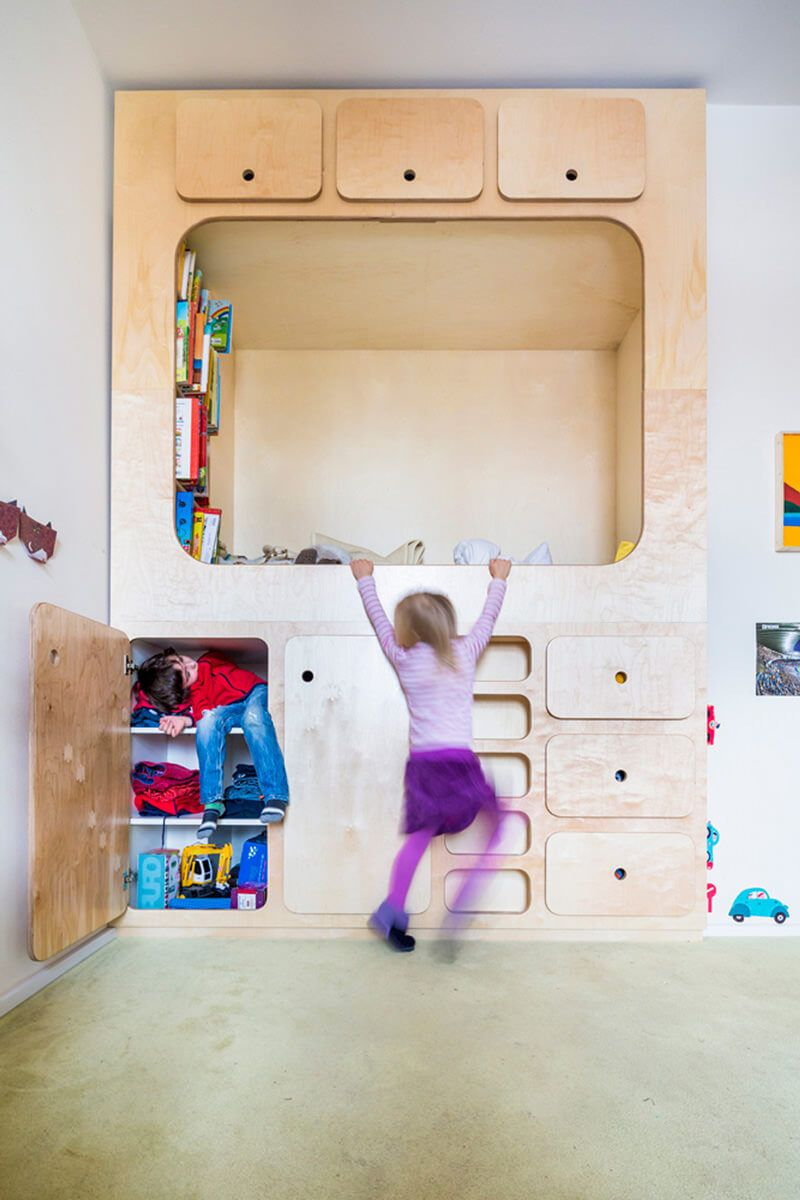 Kids Bedroom Nook kids bedroom design idea - include a cubby or reading nook for