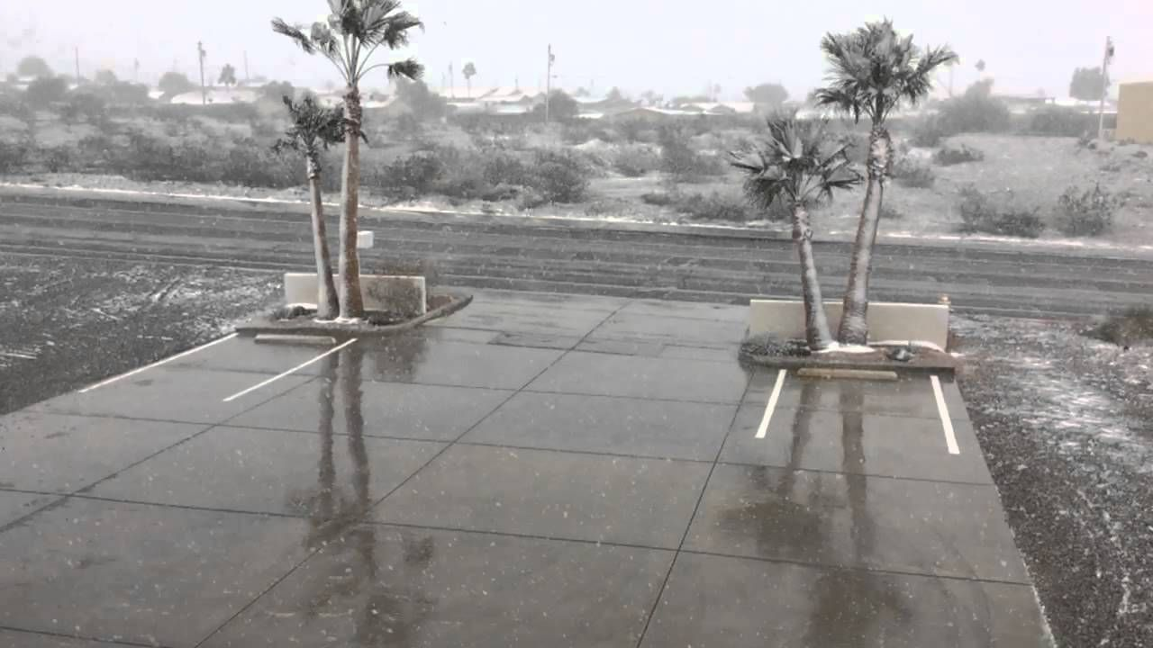 A cold winter storm is bearing down on Arizona Dec 31st