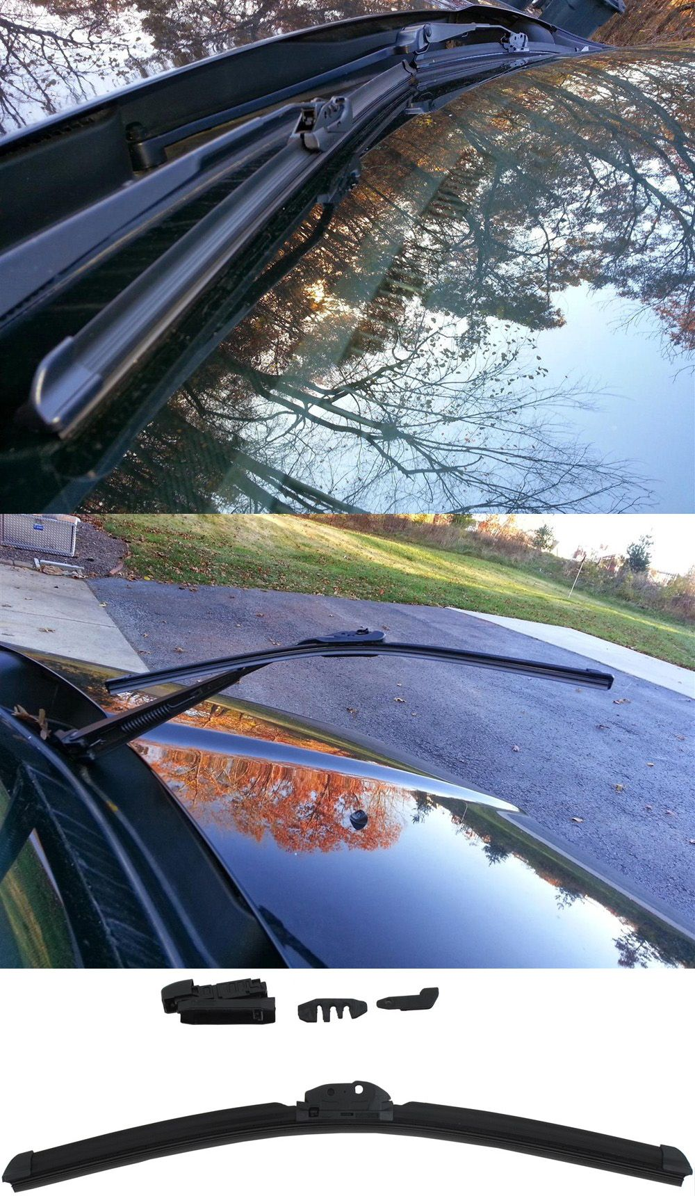 This Windshield Wiper Blade Provides Superior Visibility And Is Compatible  With The Honda CR V.