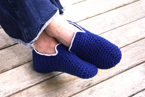man feet get cold too - men%27s house slippers