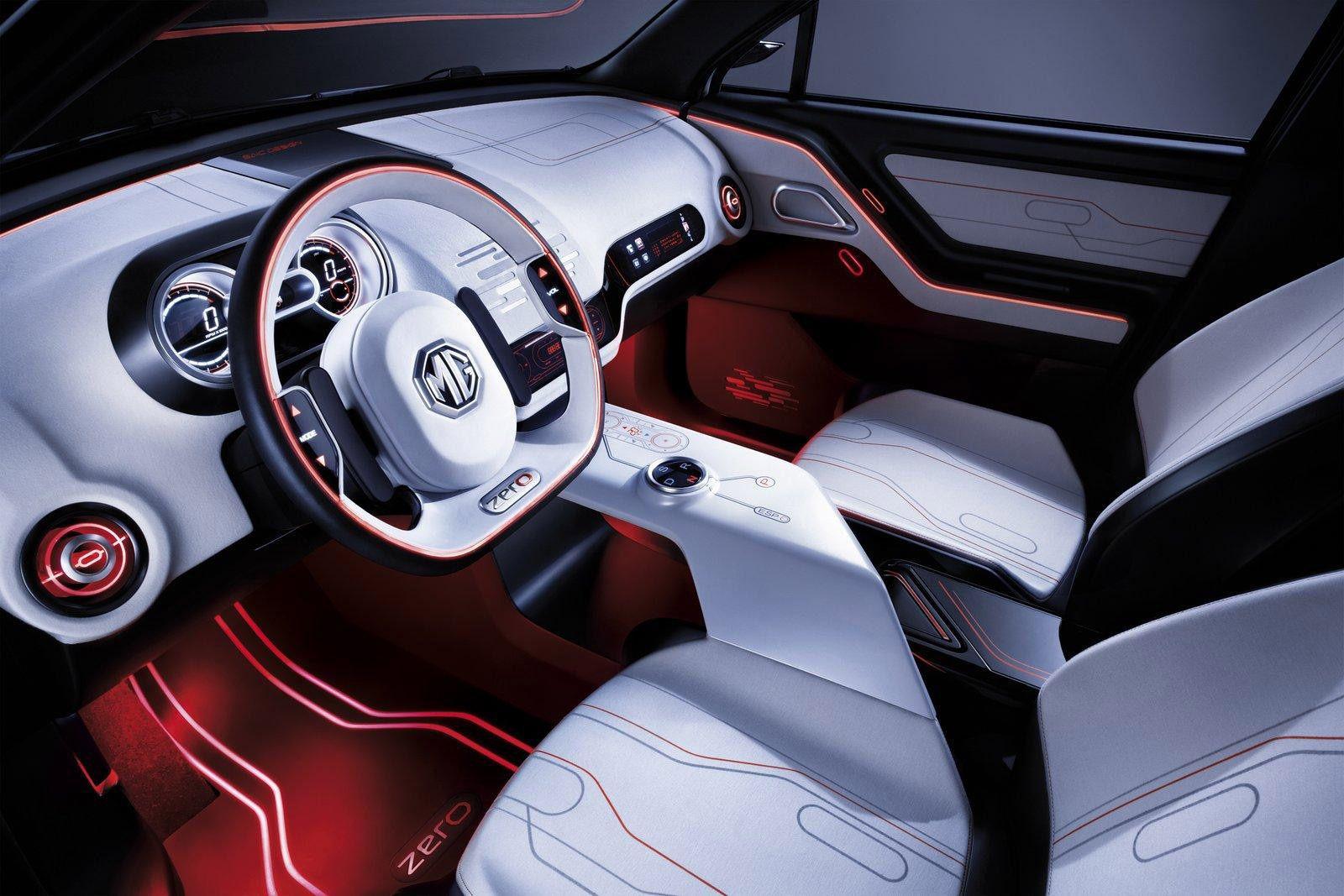 Mg Zero Concept Car Interior1 Cabin Interior DesignDiy