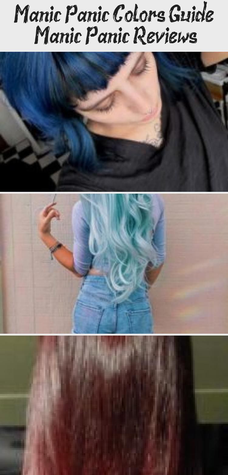 Manic Panic Colors Guide Manicpanic Colors Hairdye Guide Dyedhairhighlights Subtledyedhair Dyedhairbob Dy In 2020 Manic Panic Hair Dye Brown Hair Dye Dyed Hair