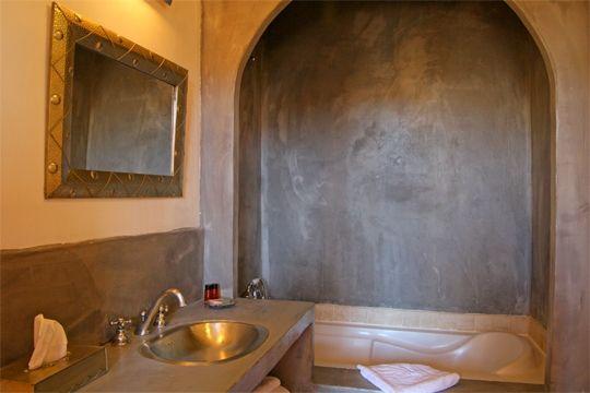 salle-bains-tadelakt | Bathroom | Pinterest | Tadelakt, Salle et ...