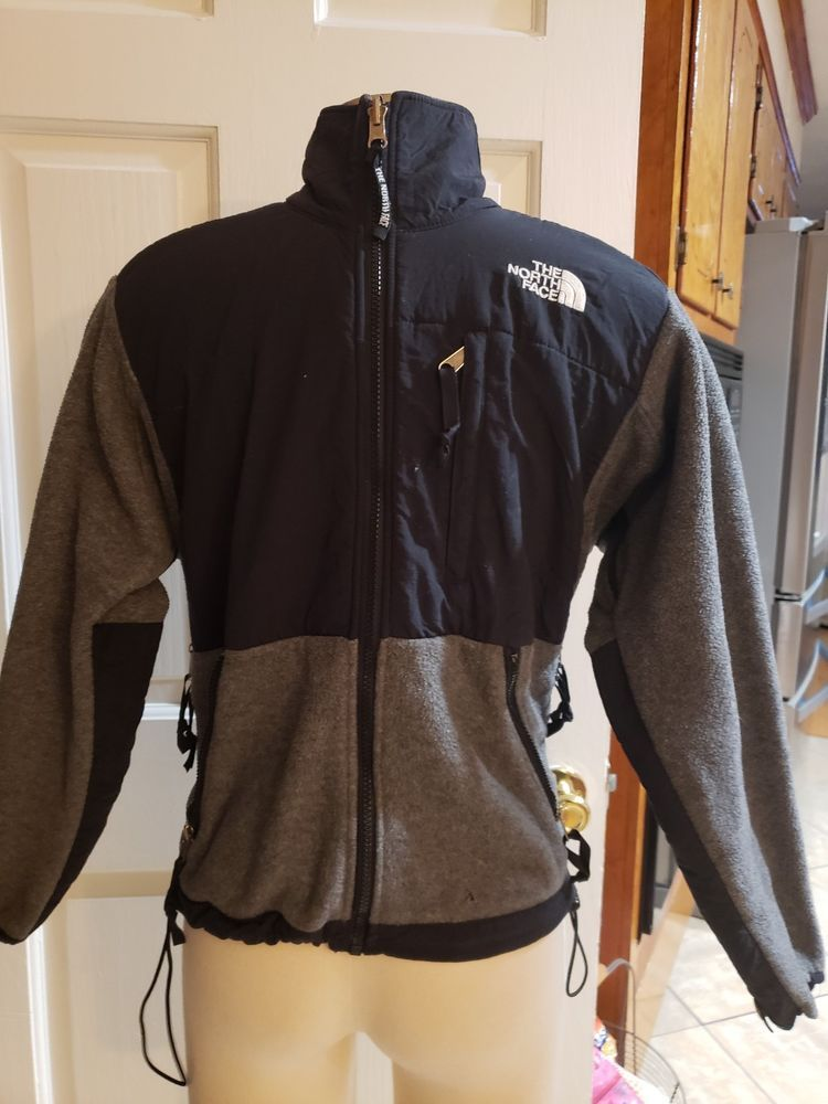 1a3b39b23 THE NORTH FACE POLARTEC FLEECE JACKET GRAY YOUTH KIDS SIZE M-L ...
