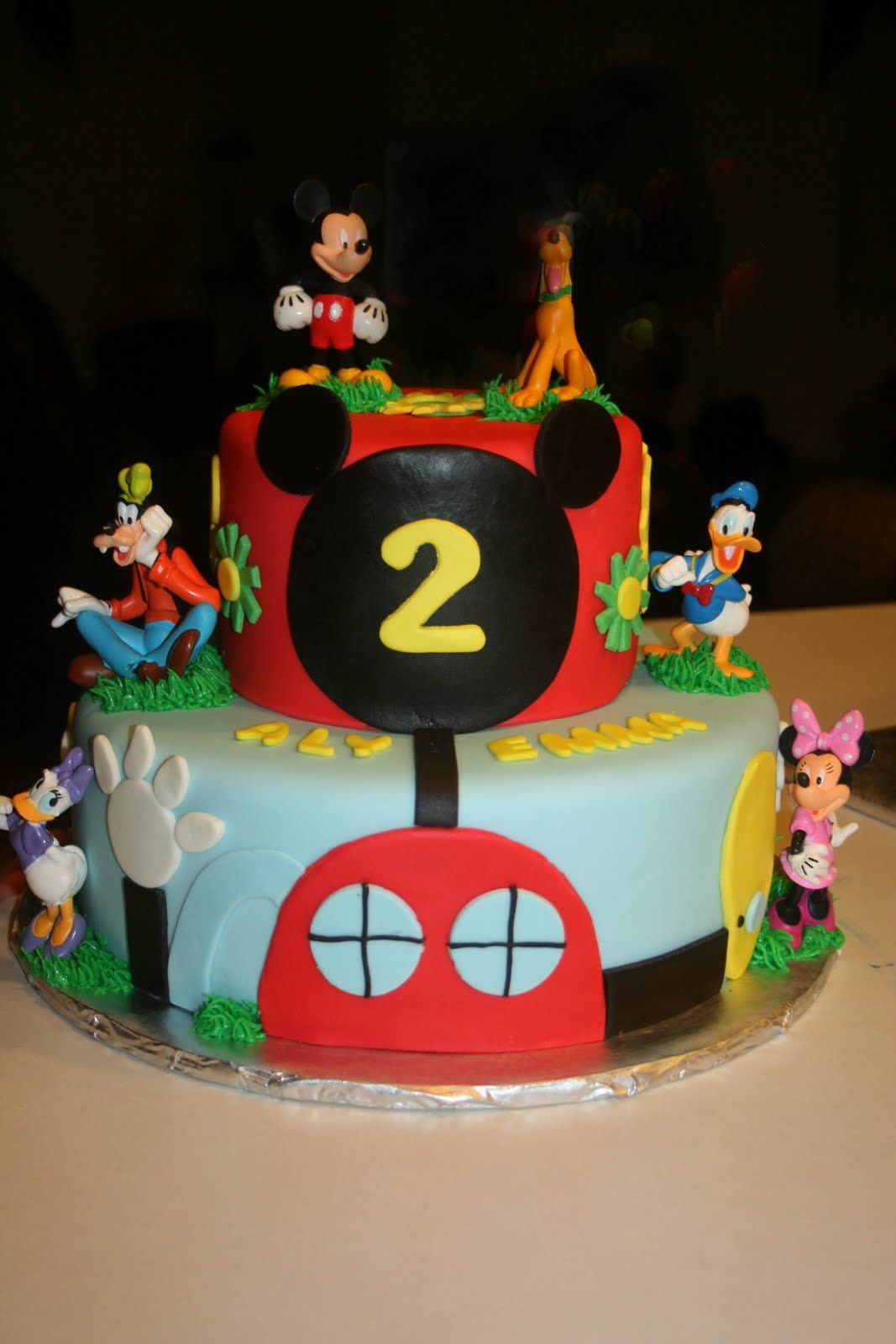 Carlys Cakes Mickey Mouse Clubhouse this one is cute too CAKE