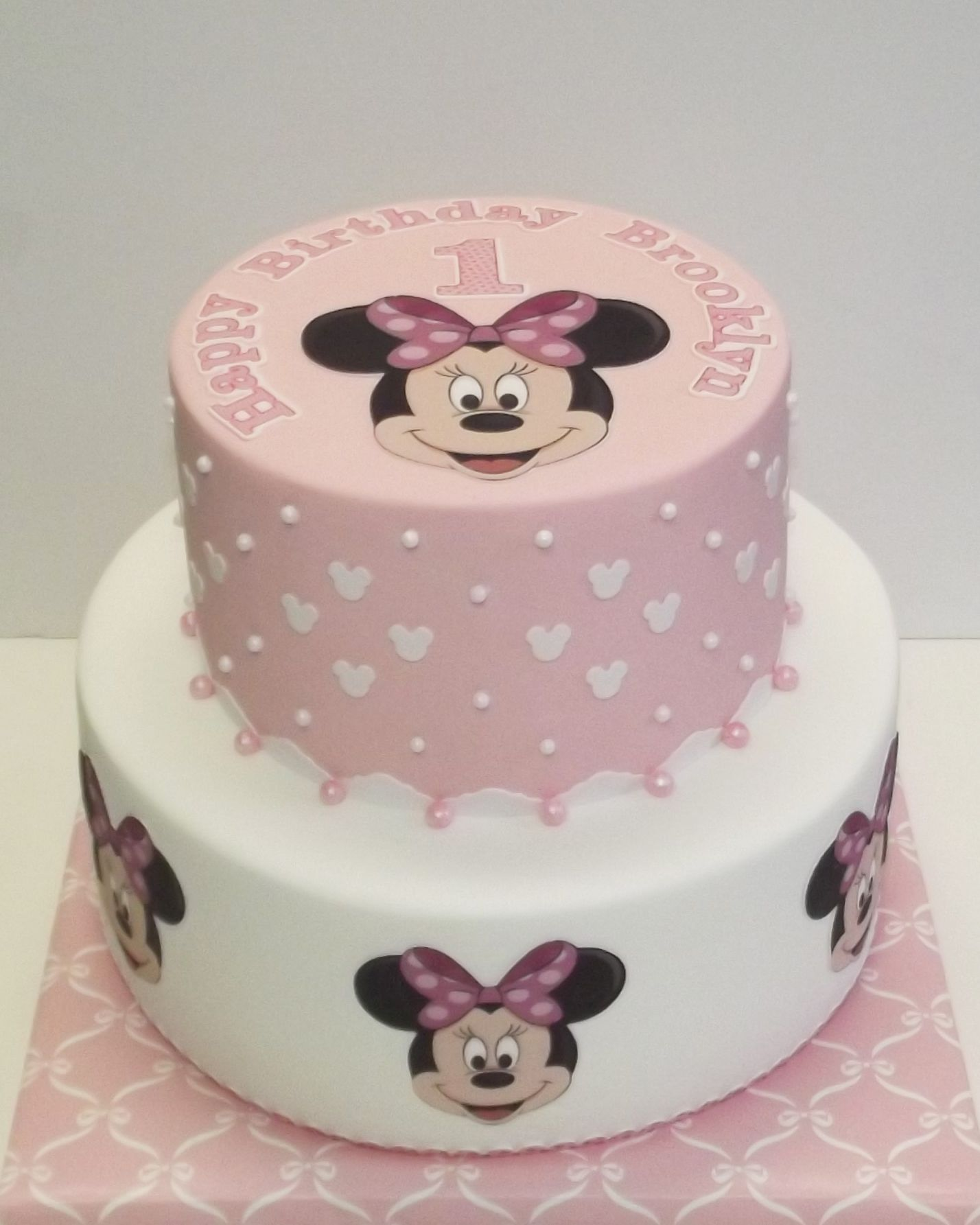 Perfect Princess Cake For A 1 Year Old Girls First Birthday Cake