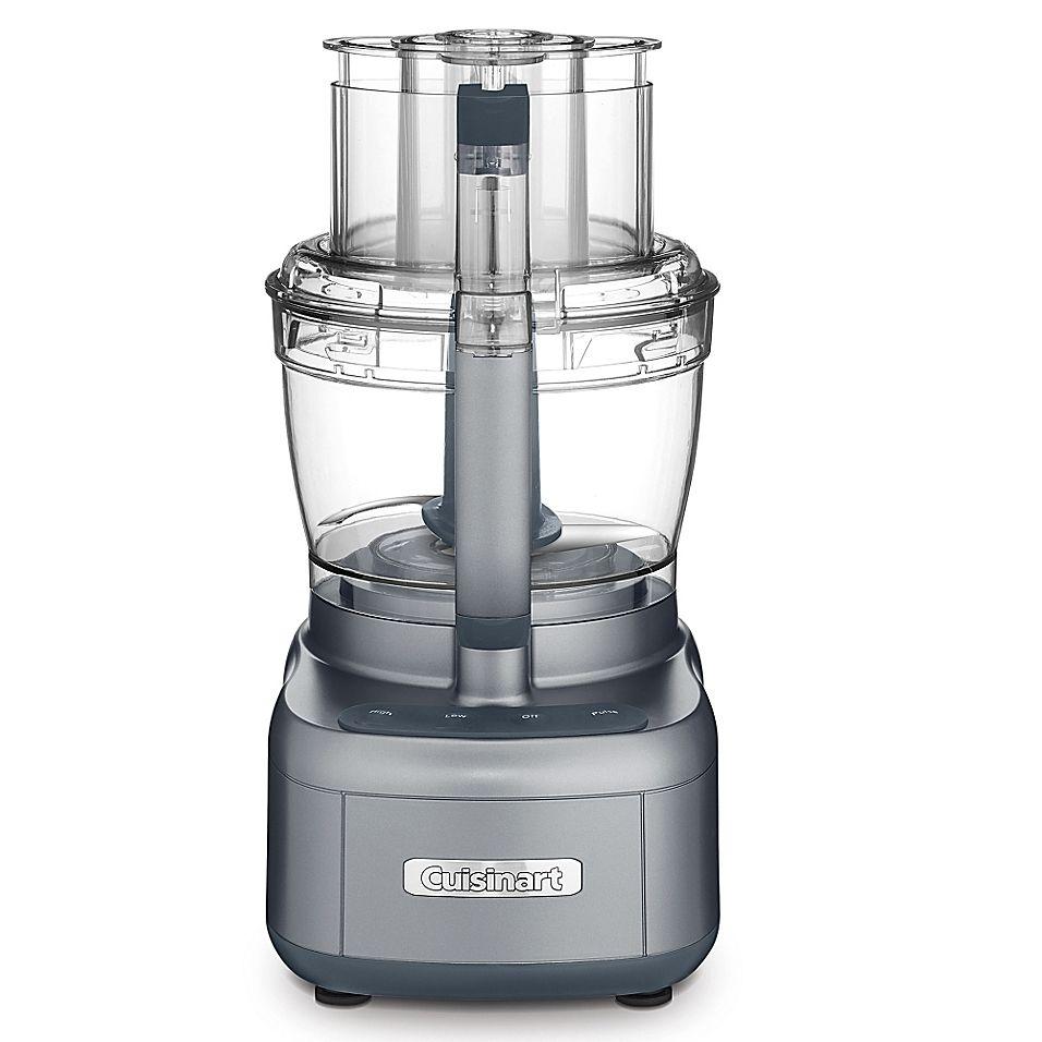Cuisinart 13 cup food processor in gunmetal food