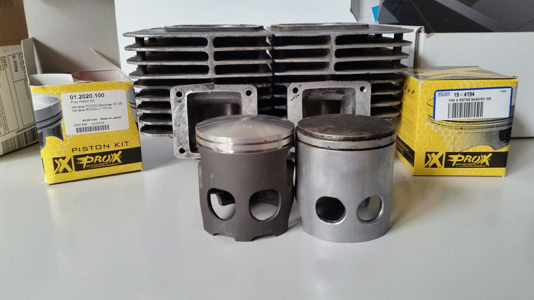 RD 350 Old and new pistons | Bikes | Motorcycle, Cars