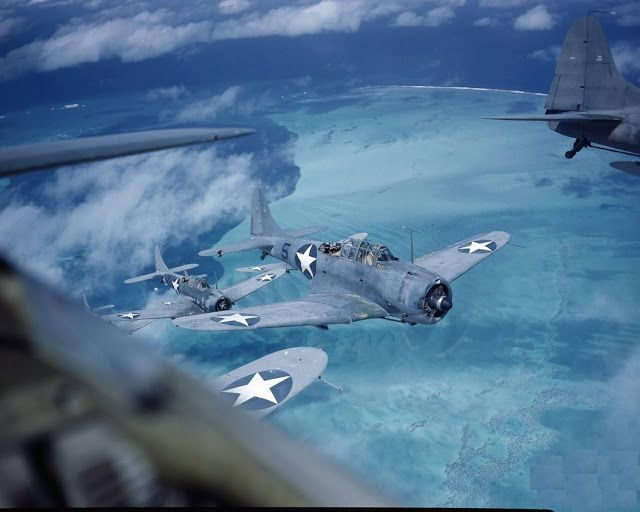 Battle Of Midway Ww2 In Color