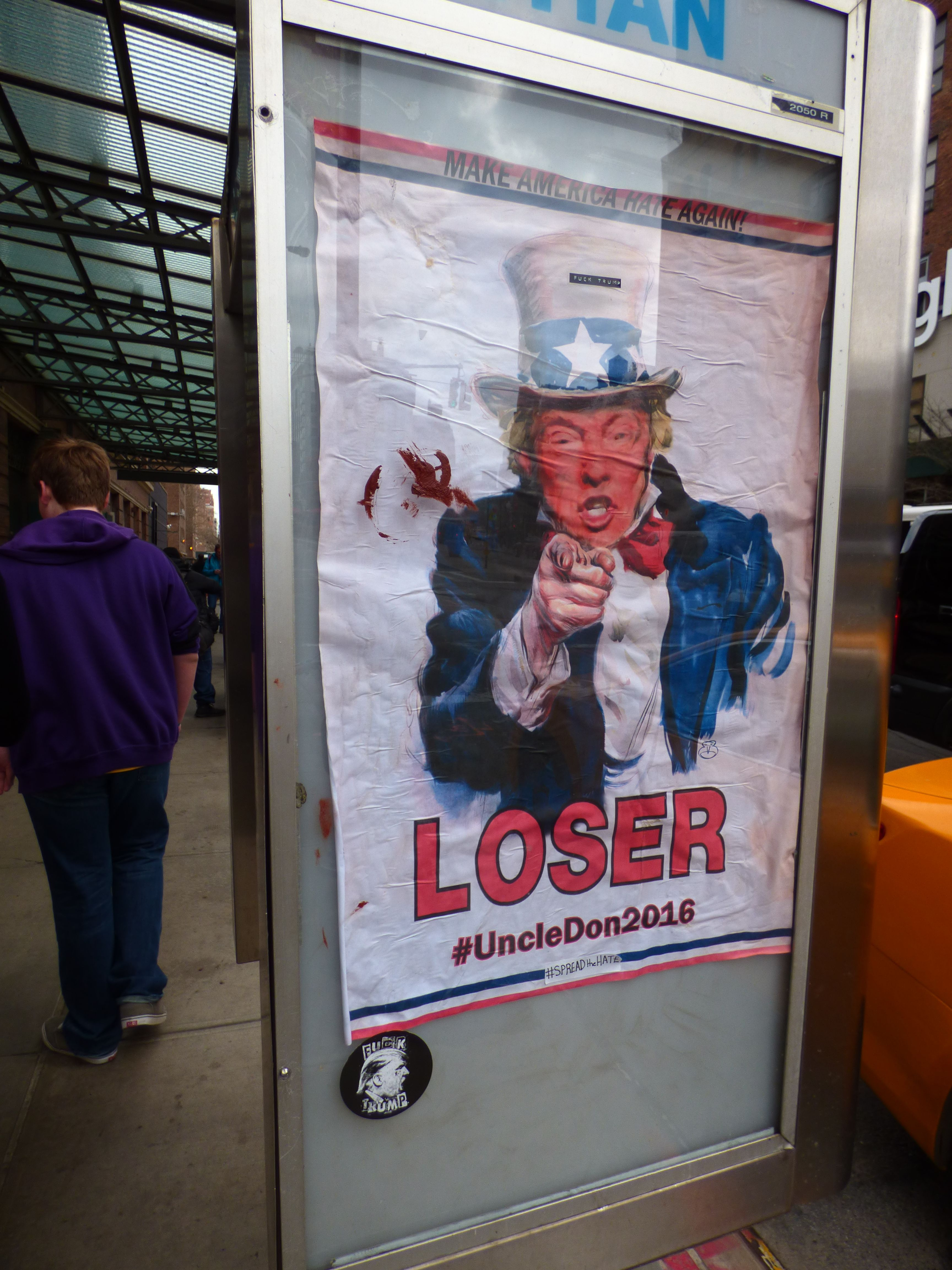 Keep your eyes open, you never know what you might see.  The political game is alive and well in the big apple.