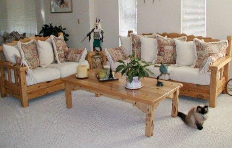 Elegant Traditional Wooden Sofa Set Designs
