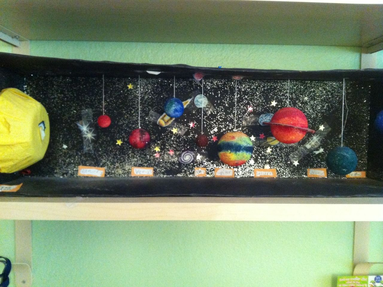 The Solar System Solar system projects, Solar system