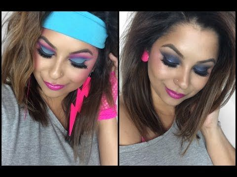 80s Inspired Makeup Pacifica Muse Contest Round 2 Youtube