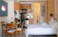 How Decorate Efficiency Apartment Minimalist Studio Floor