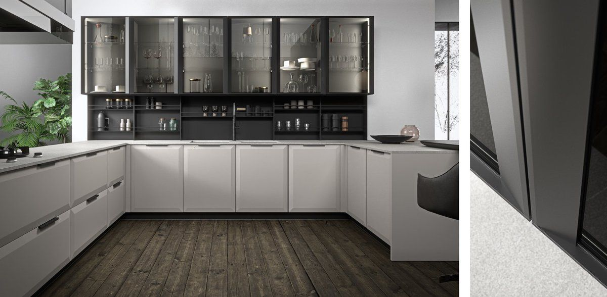 Brera Academy collection by aster cucine | Kitchen and ...