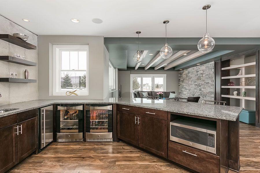 Morgan Ave Basement Finishing Basement Home Basement Design