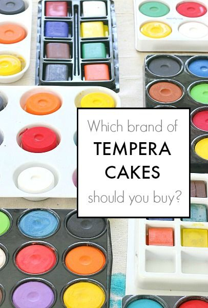Comparing Different Brands Of Tempera Cakes Art Classroom