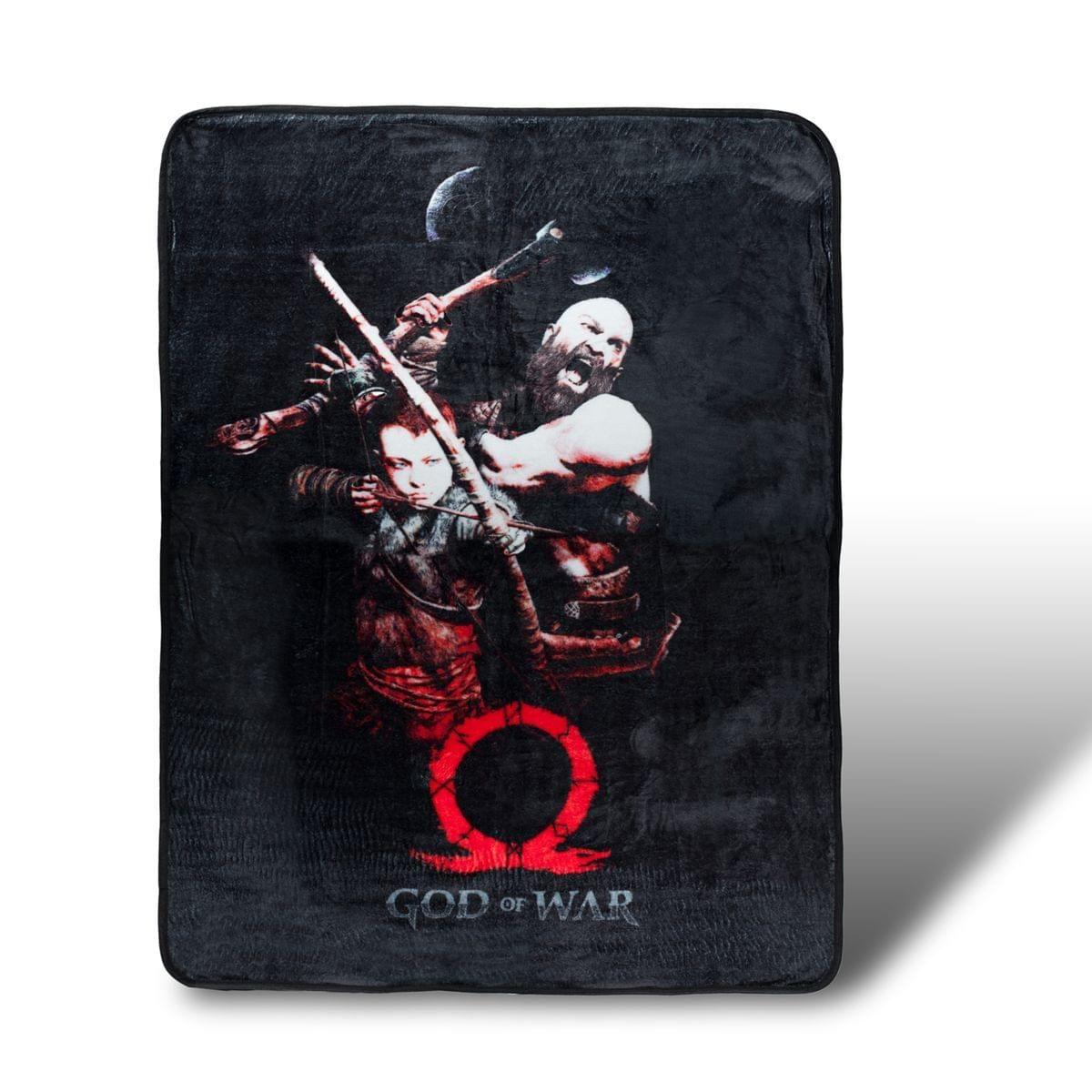 Kratos And Son God Of War Lightweight Fleece Throw Blanket 45 X 60 Inches In 2021 Fleece Throw Blanket Fleece Throw God Of War