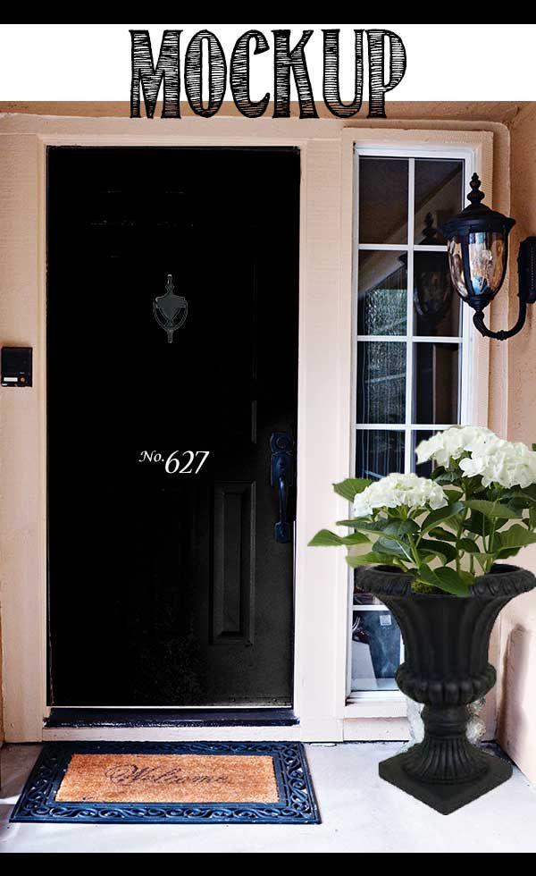 Front Door Mini-Makeover | Front doors, Doors and Grand entrance