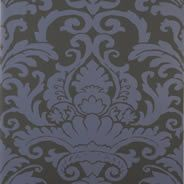 always love damask....traditional and funky