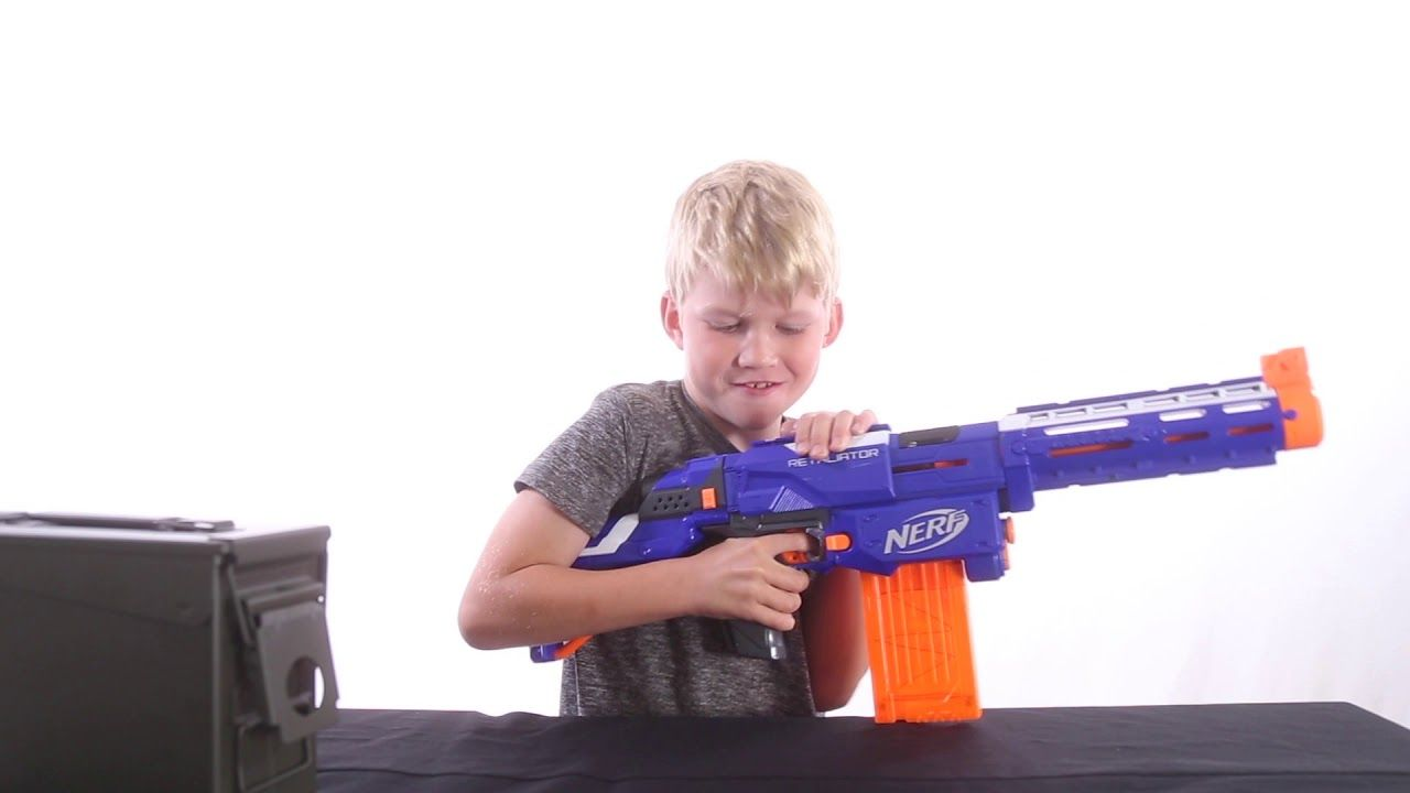 Nerf Battles, Nerf Guns and all things Nerf