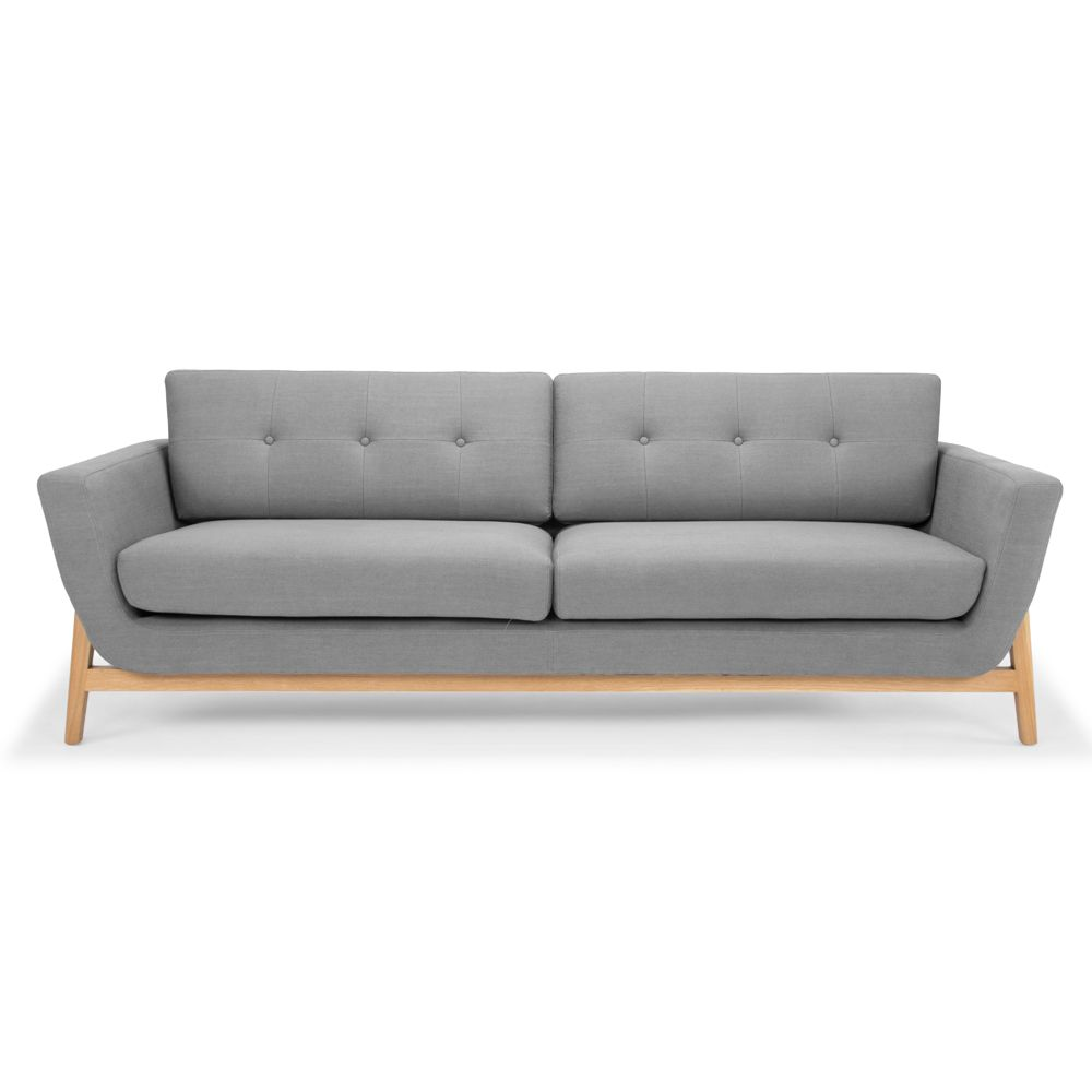 Opt For The Versatile Helgrim 3 Seater Sofa Steel Grey For A Refined Contemporary Addition To Your Living Room Furniture Stores Online Furniture Design Sofa