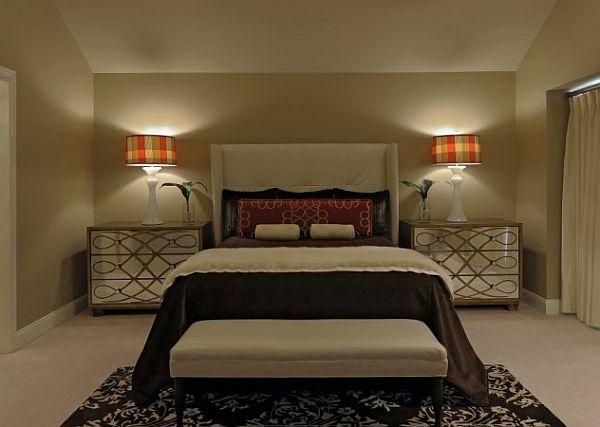 elegante-schlafzimmer lampen-im-gemütlichen-schlafzimmer | Ideen ...
