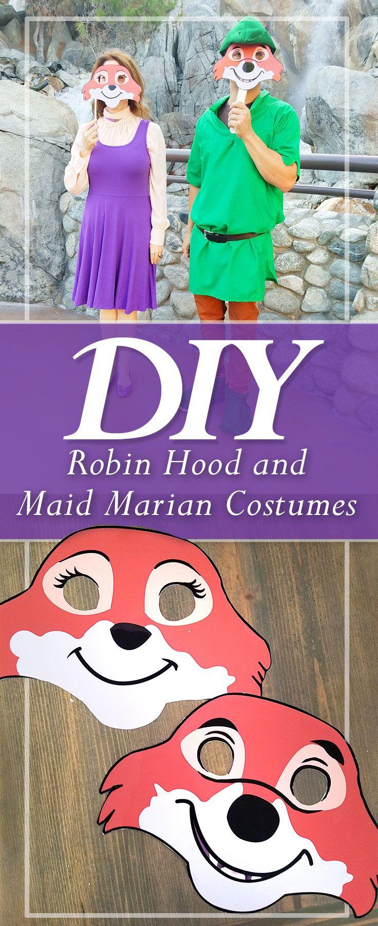 Robin Hood And Maid Marian Costumes Diy Disney Maid Marian