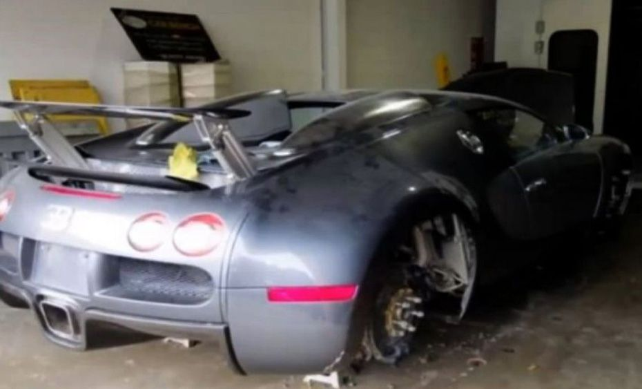7c31eb5aee4b Abandoned Exotics from around the world Try not to cry Bugatti Veyron