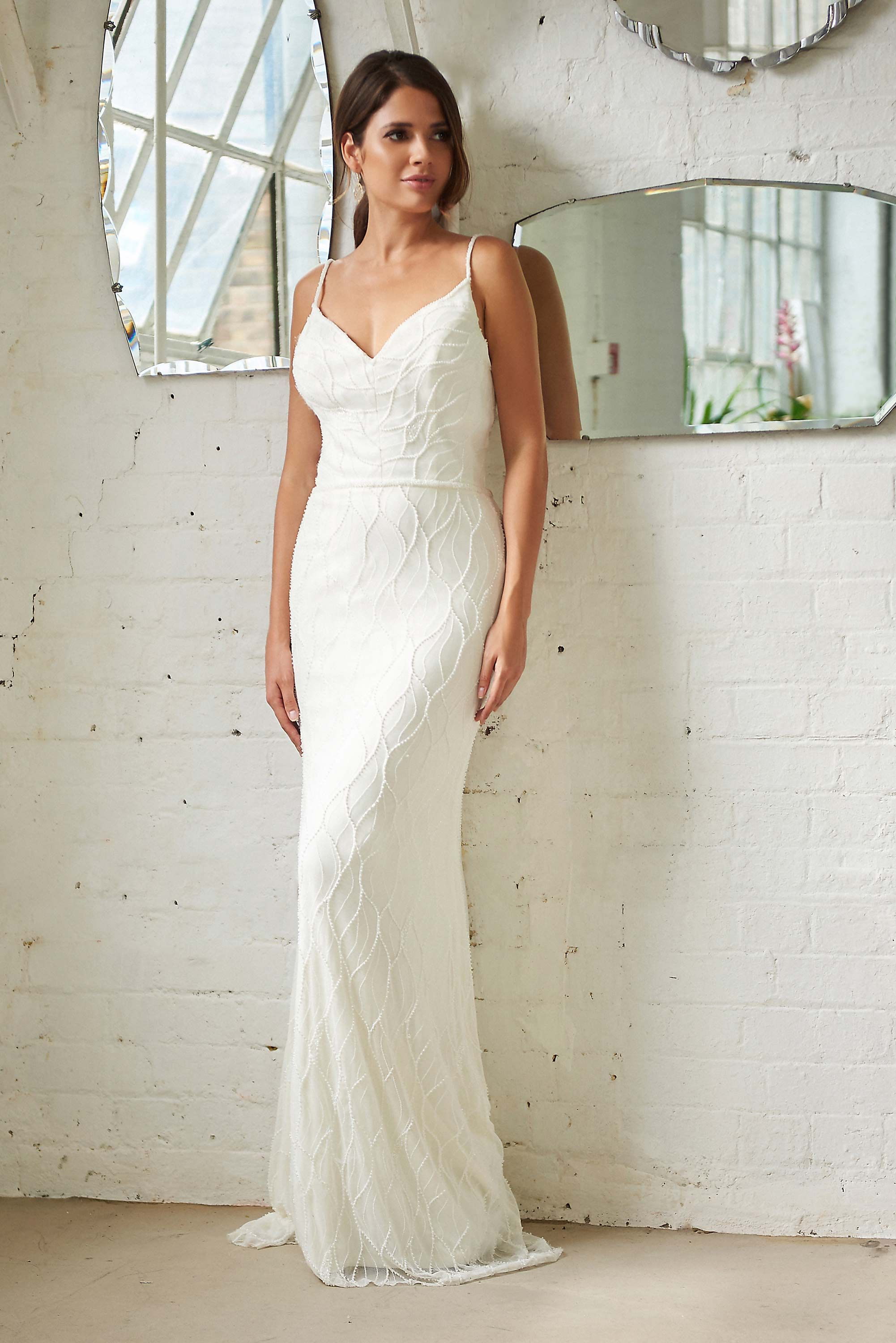 Zara Bohemian Wedding Dresses Simple Elegant Dress Uk Designer