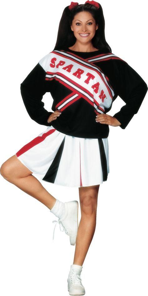 SNL Spartan Cheerleader Costume for Women - Party City | Halloween ...