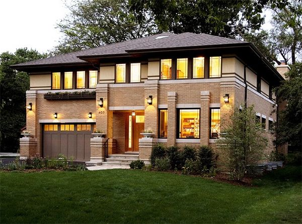 20 Asian Home Designs With A Touch Of Nature Home Design Lover Prairie Style Houses House Architecture Styles Frank Lloyd Wright