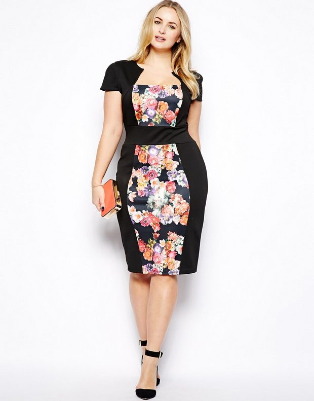 Trendy Plus Size Cocktail Dresses - Ocodea.com