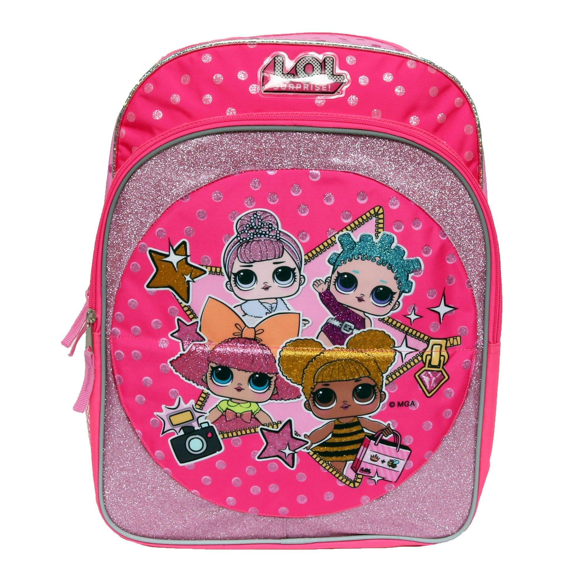 L.O.L. Surprise! 16 Just Flip Kids  Backpack - Pink  24bb4ceaf0292