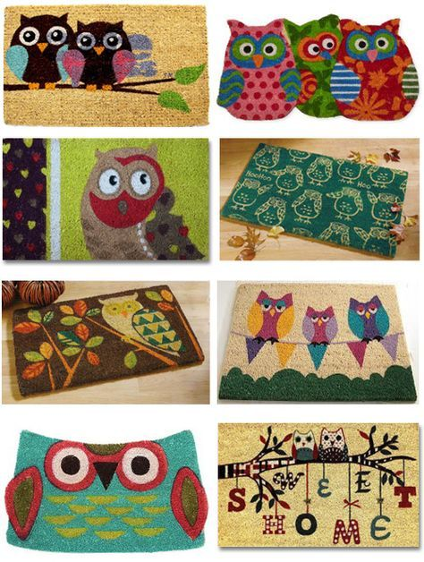 Collection Owl Doormats Owl Rug Owl Home Decor