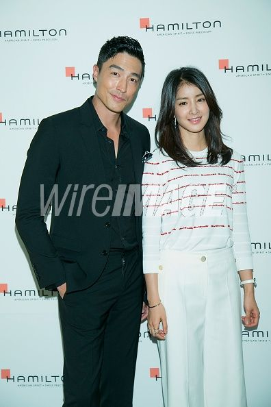 Actors Daniel Henney and Lee...