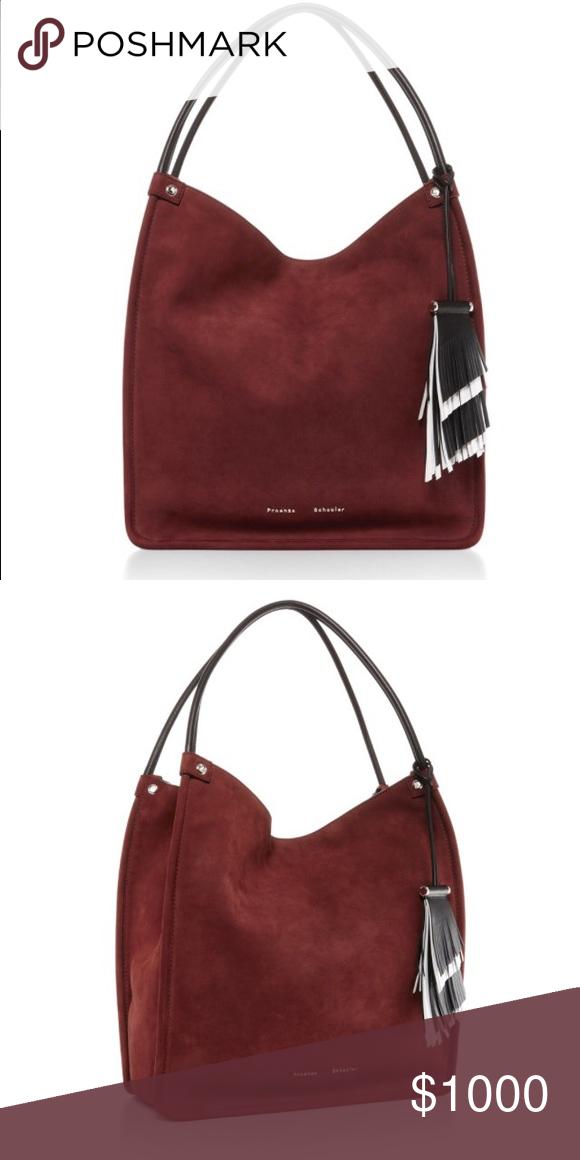 c7e1a336e26 Proenza Schouler suede tote Purchase a couple weeks ago. Worn a couple  times. Proenza Schouler Bags Shoulder Bags
