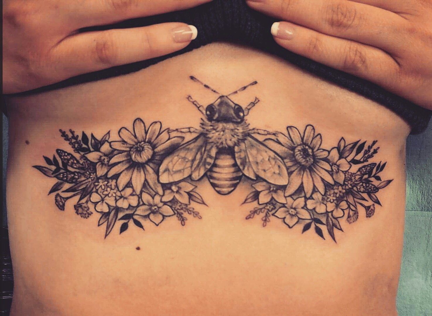 Image Result For Wildflower Sternum Tattoo Mountain Warehouse