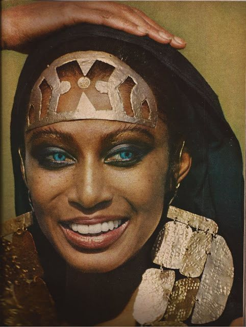 TRIP DOWN MEMORY LANE: DONYALE LUNA: THE WORLD`S FIRST BLACK SUPERMODEL AND THE FIRST TO GRACE THE COVER OF VOGUE 1969