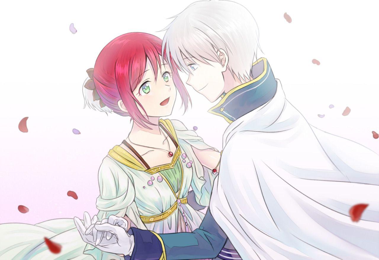 Akagami No Shirayuki Hime Snow White With The Red Hair Zen And Shirayuki The Best Scene Snow White With The Red Hair Snow White Akagami No