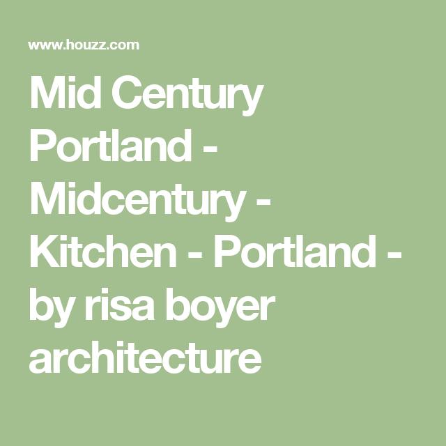 Best Mid Century Portland Midcentury Kitchen Portland 400 x 300