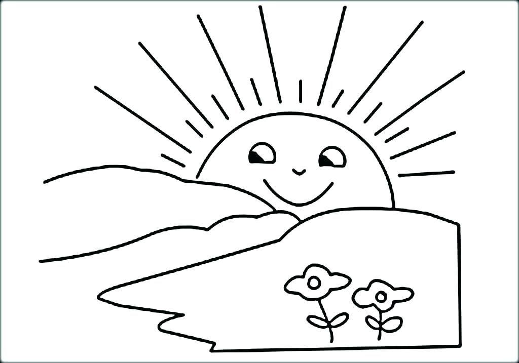 Sun Coloring Page Sun Color Page Sun Coloring Pages Free Printable