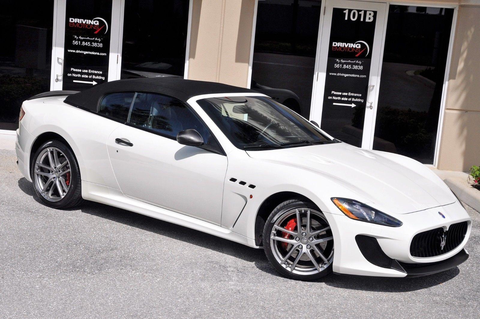 2014 Maserati Gran Turismo Mc Convertible 170k Msrp 2014 Maserati Granturismo Mc Convertible White Maserati Granturismo 2014 Maserati Granturismo Maserati